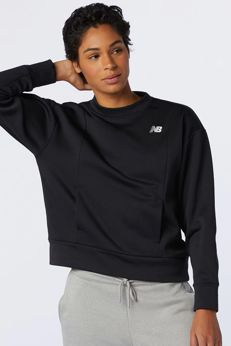 Relentless Fleece Pullover | Black