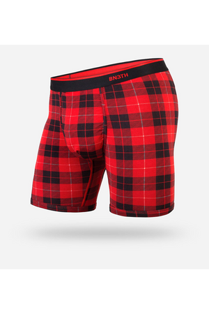 Classic Boxer Brief | Fireside Plaid Red - West of Camden