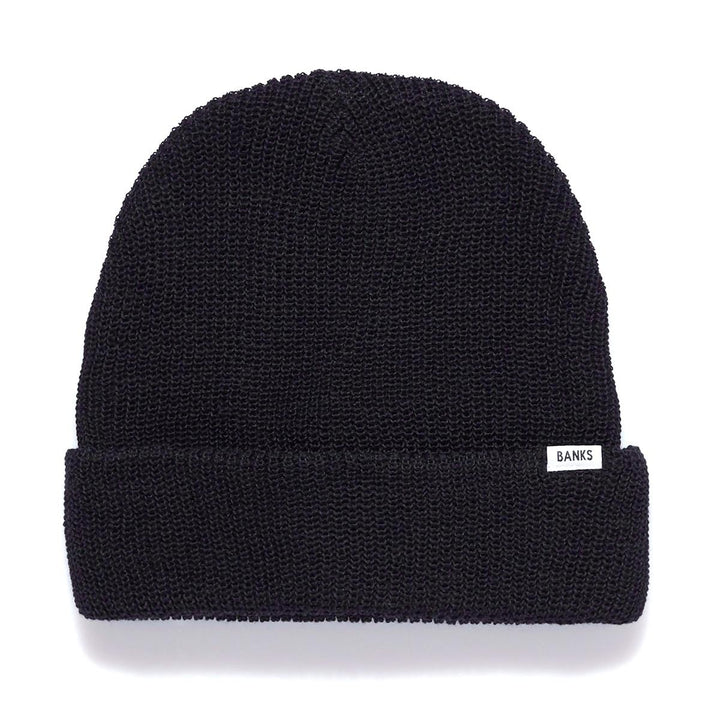Primary Beanie | Dirty Black