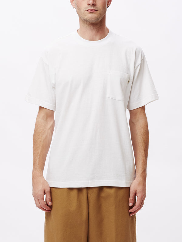 Ideals Recycled SS Pocket Tee | White - West of Camden