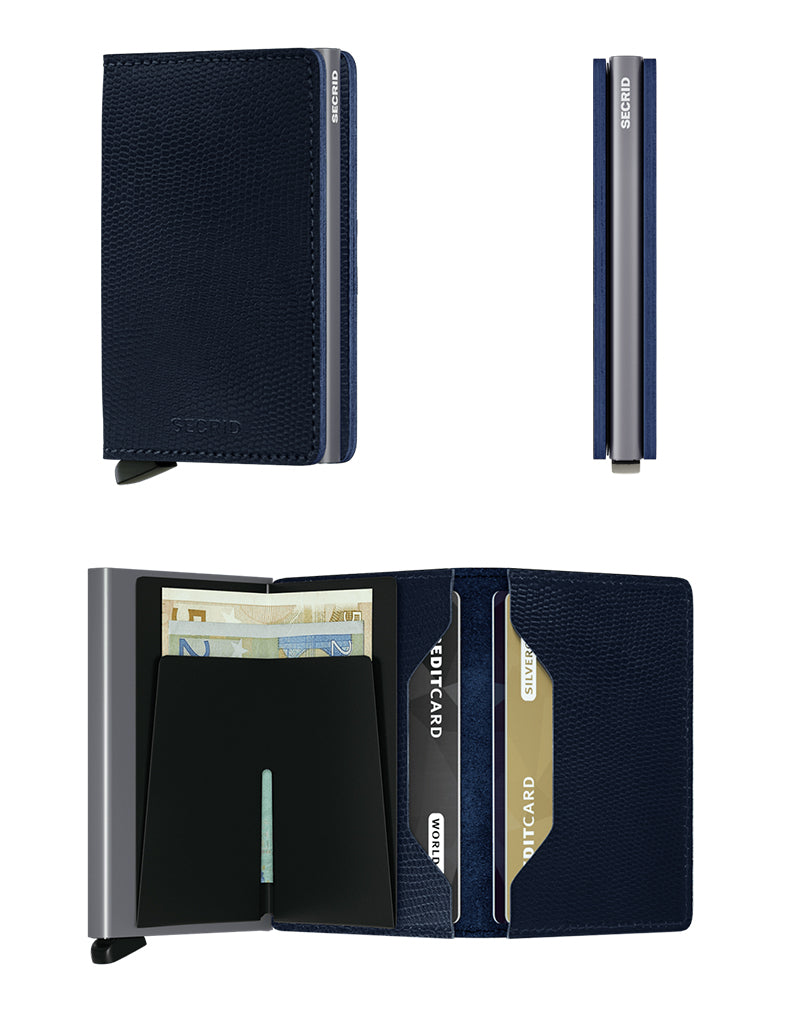 Slimwallet Rango | Blue Titanium - West of Camden