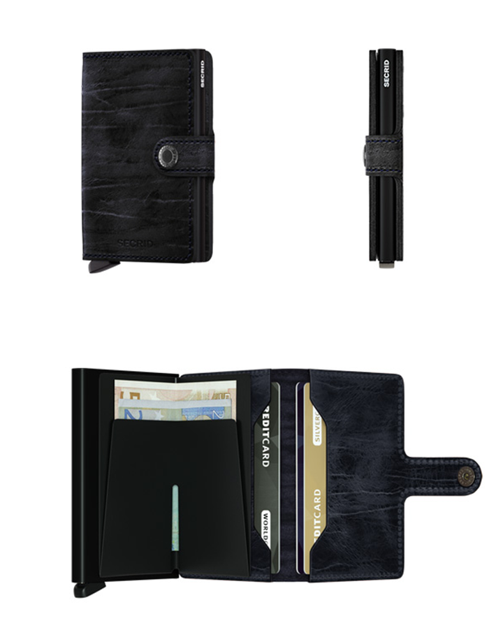 Miniwallet Dutch Martin | Night Blue - West of Camden