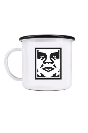 Icon Steel Mug | White