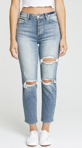 Original High Rise Mom Denim | Obsessed - West of Camden