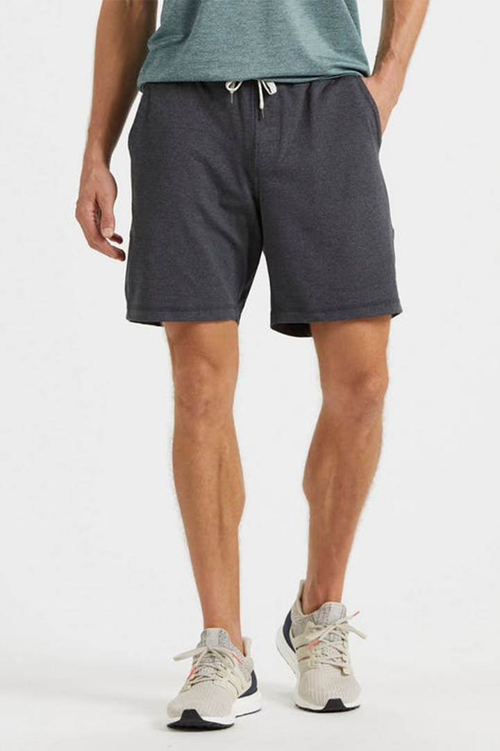 Ponto Short | Charcoal Heather - West of Camden