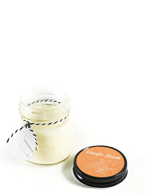 Pacific Beach Soy Candle