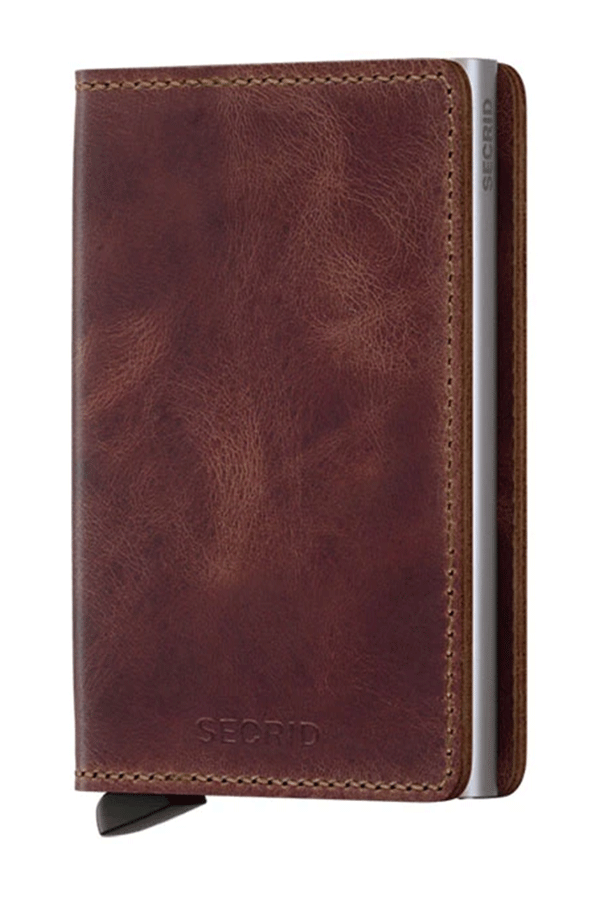 Slimwallet Vintage | Brown