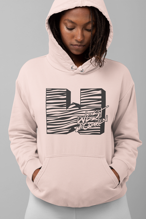 W-TV Premium Unisex Hoodie | Dusty Pink - West of Camden