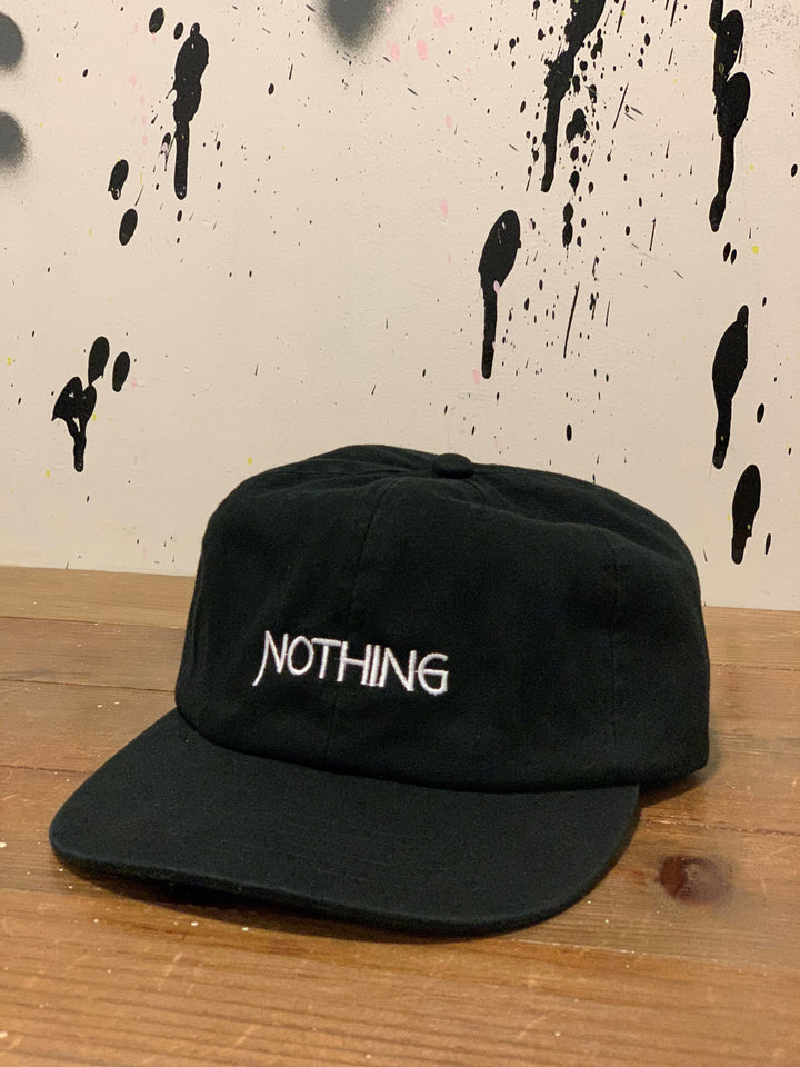Nothing Unconstructed Cap | Black