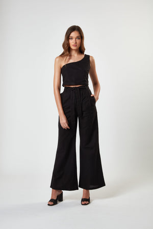 Bask Pant | Black - West of Camden