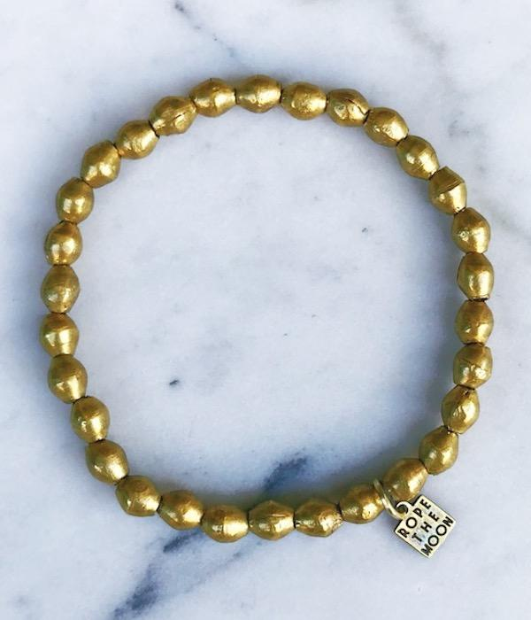 Sure Thing Bracelet / Gold - West of Camden
