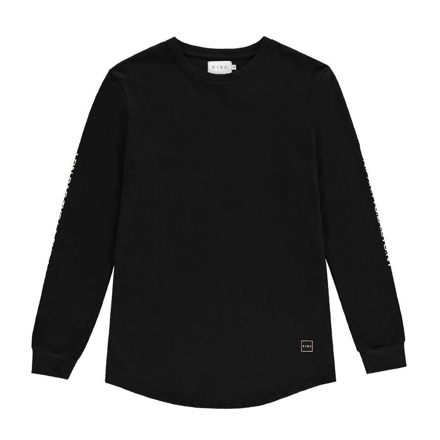 Homerton LS Tee 18 | Black - West of Camden