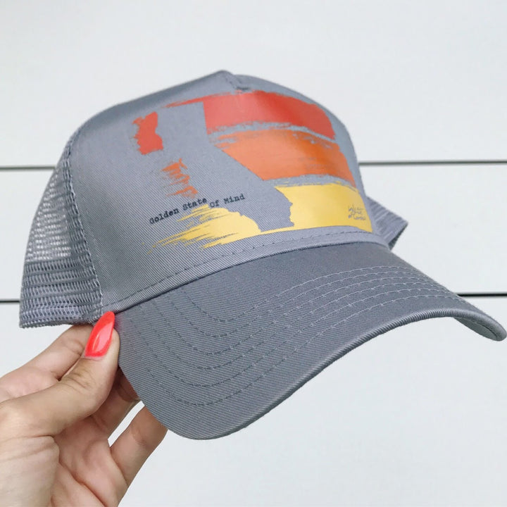 Golden State Twill Trucker | Light Grey
