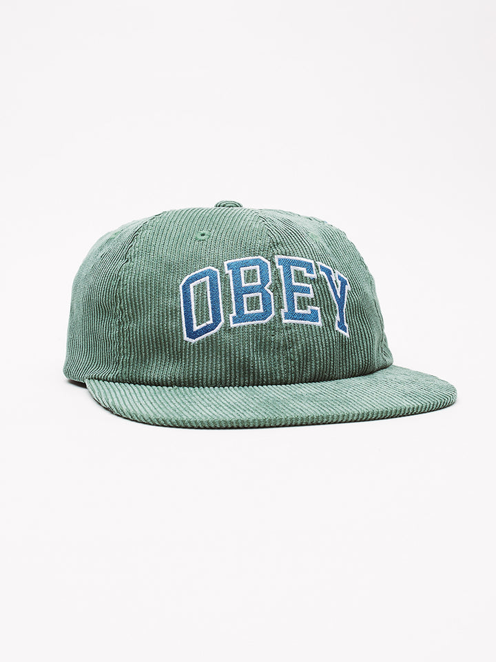DTP 6 Panel Strapback | Emerald