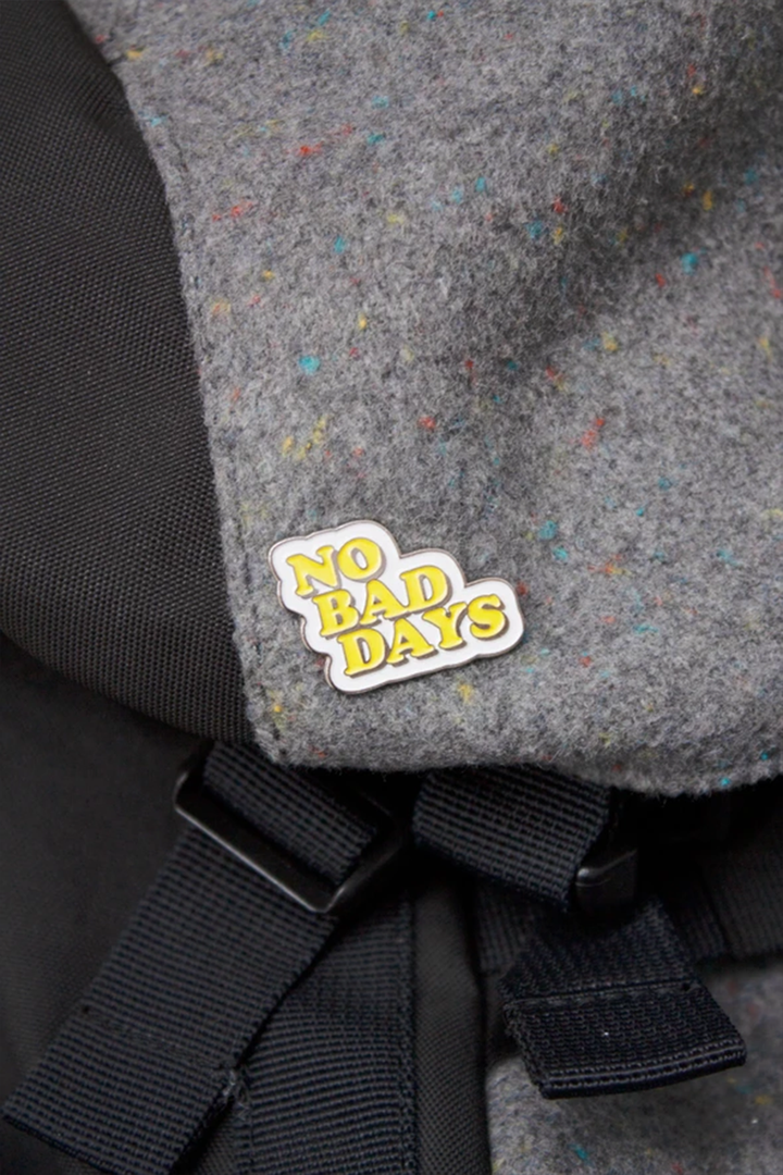 No Bad Days Enamel Pin - West of Camden