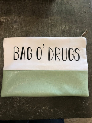 Bag O Drugs Makeup Bag - West of Camden