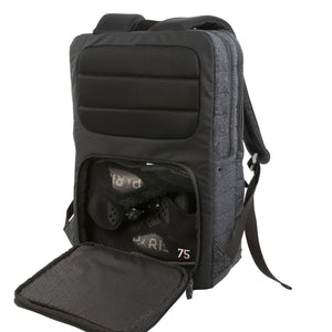 Galaxy Sneaker Backpack | Black Reflective - West of Camden