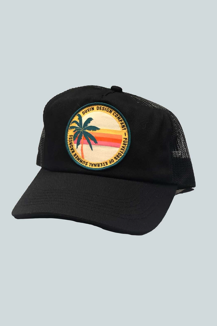 Summer Rad Trucker | Black - West of Camden