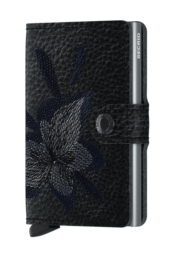 Miniwallet Stitch | Magnolia Black - West of Camden