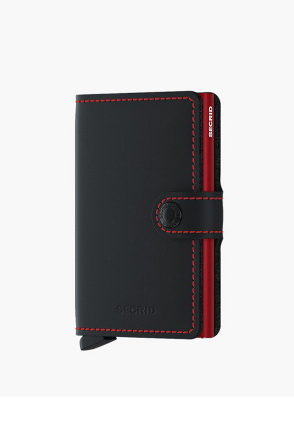 Miniwallet Matte | Black-Red