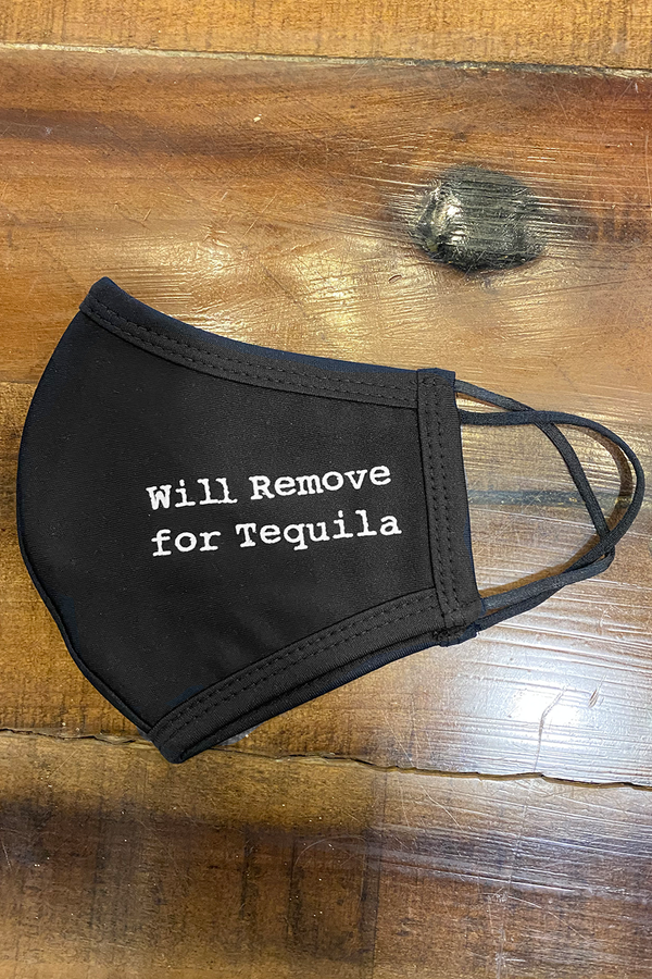 Will Remove for Tequila Mask | Black