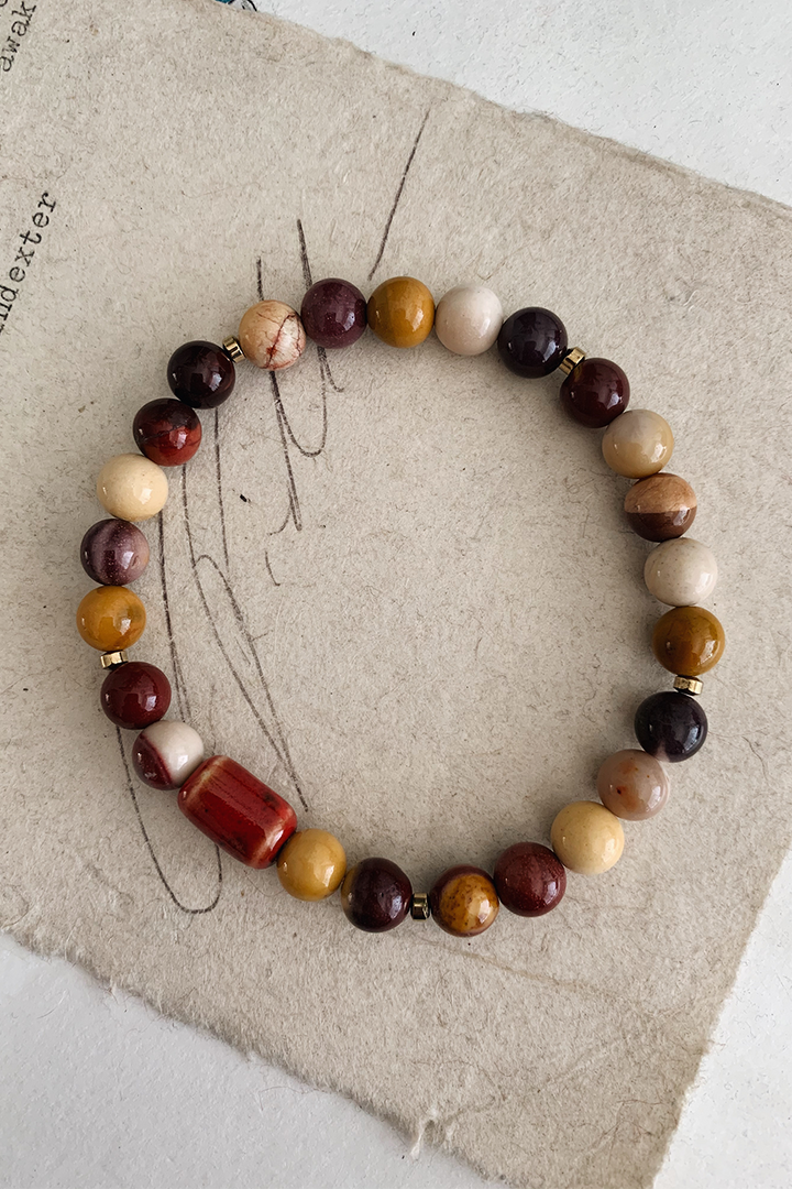 Social Distancing Bracelet | Mookaite - West of Camden