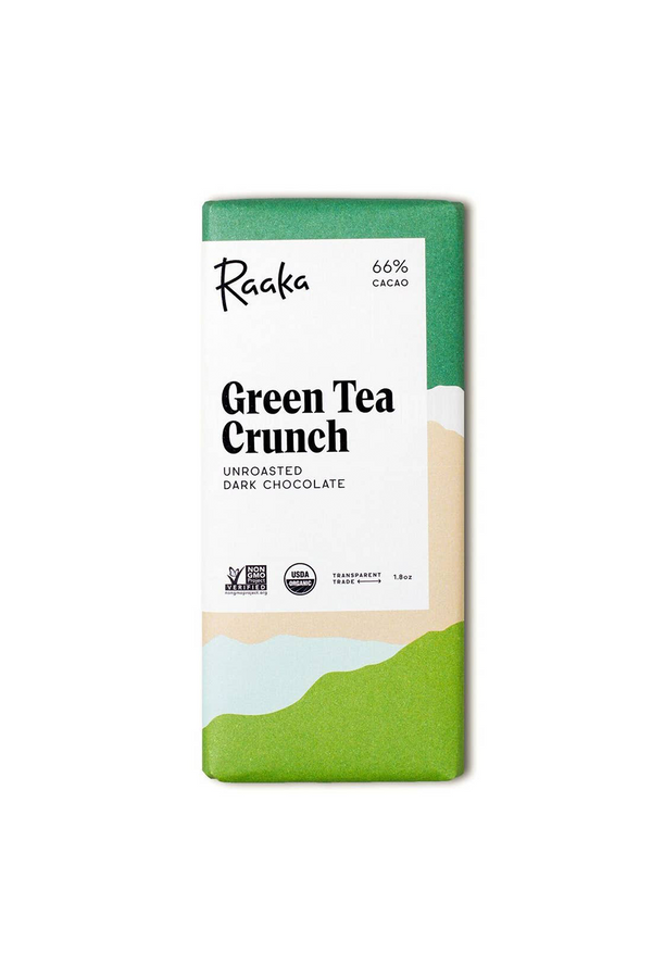 Chocolate Bar | 66% Green Tea Crunch