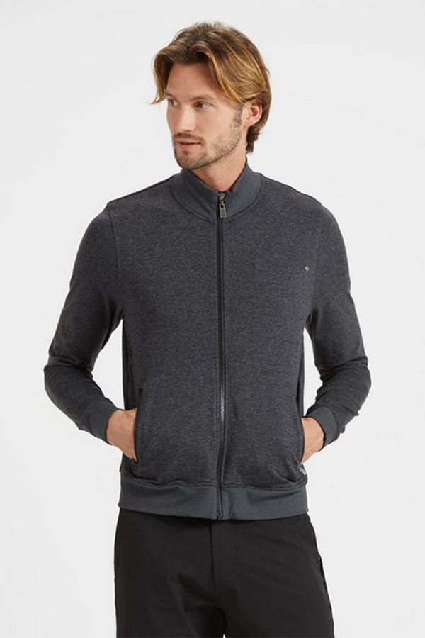 Ponto Track Jacket | Charcoal H. - West of Camden