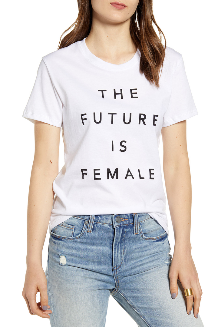 Future Female Graphic Tee | White - West of Camden