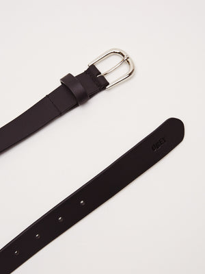 Vandal Jumble Leather Belt | Black - West of Camden
