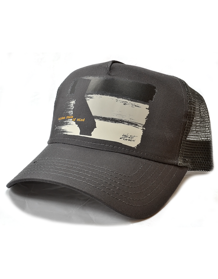 Golden State Twill Trucker | Dark Grey