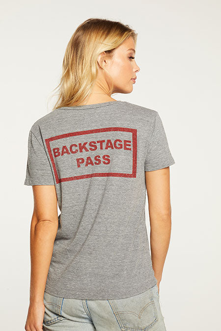 ACDC Monsters Backstage Tee | Streaky Grey