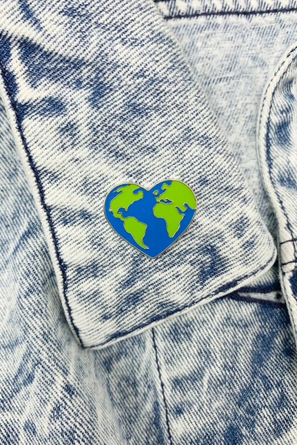 Mother Earth Enamel Pin