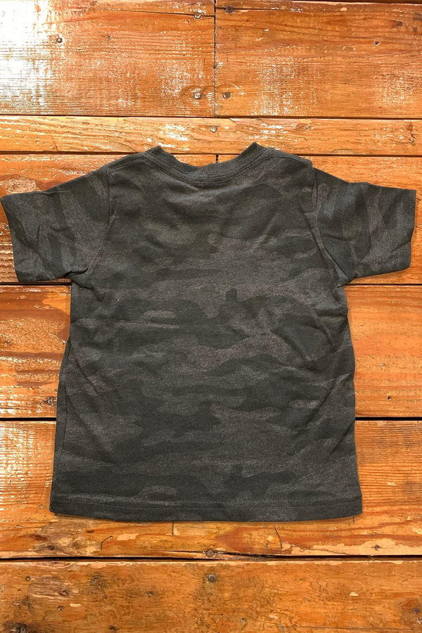 Playground Legend Kids Tee | Black Camo