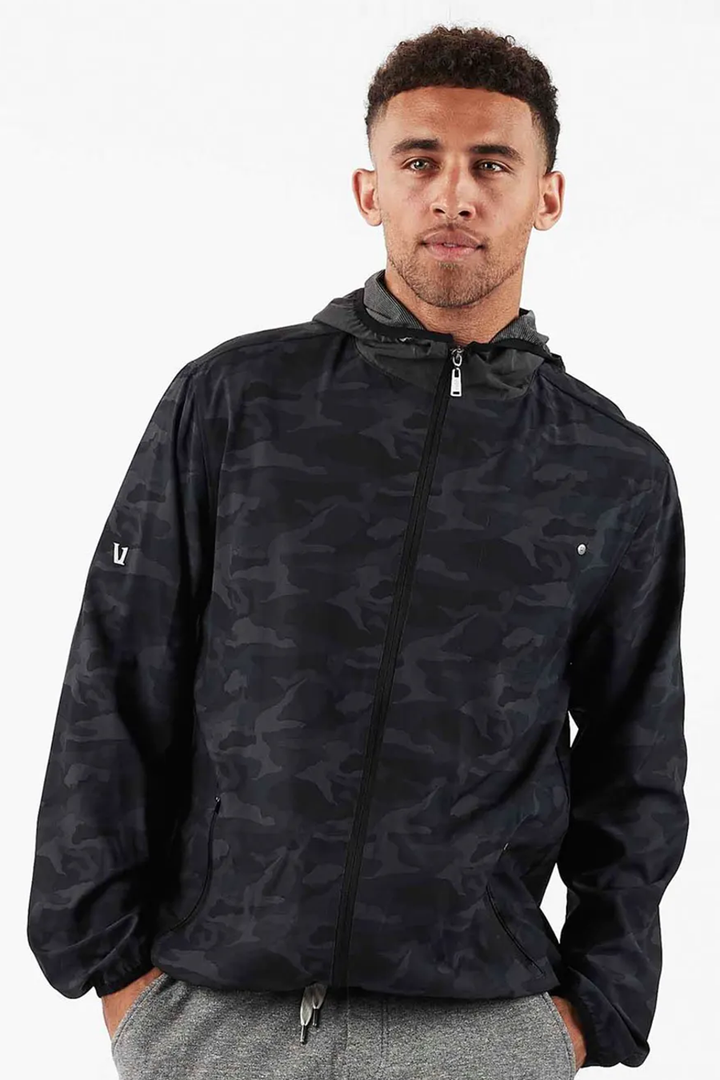 Outdoor Trainer Shell | Black Camo - West of Camden