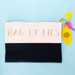Bag of Lies Travel Bag - West of Camden
