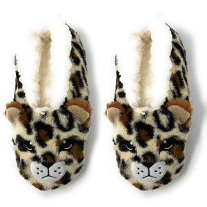 Womens Indoor Cheetah Slipper | Cheetah Print - West of Camden