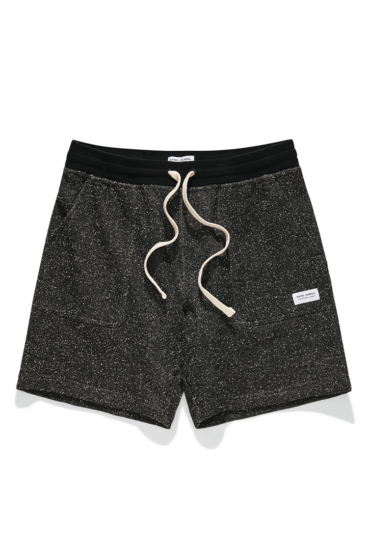 Big Bear Fleece Walkshort | Dirty Black
