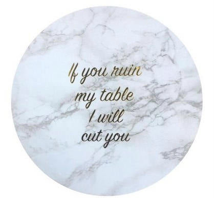 I Will Cut You Coasters - West of Camden