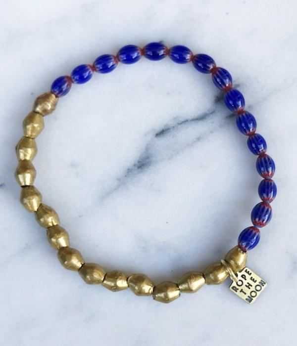 Sure Thing Bracelet / Red & Blue
