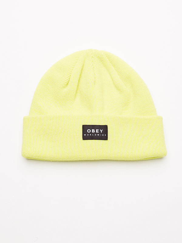 Vernon Beanie II | Light Yellow