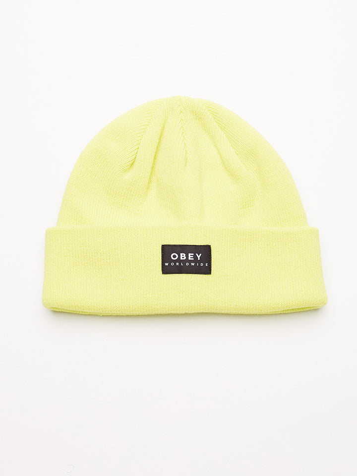 Vernon Beanie II | Light Yellow - West of Camden