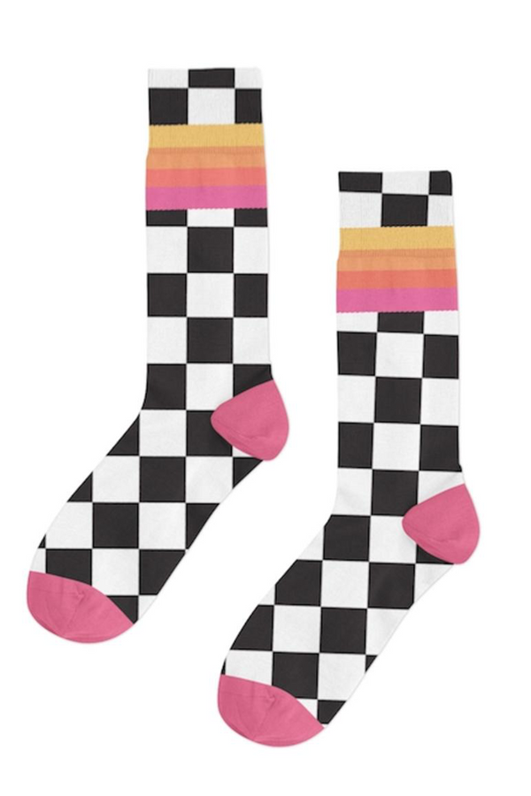 Daytona 500 Sock | Black
