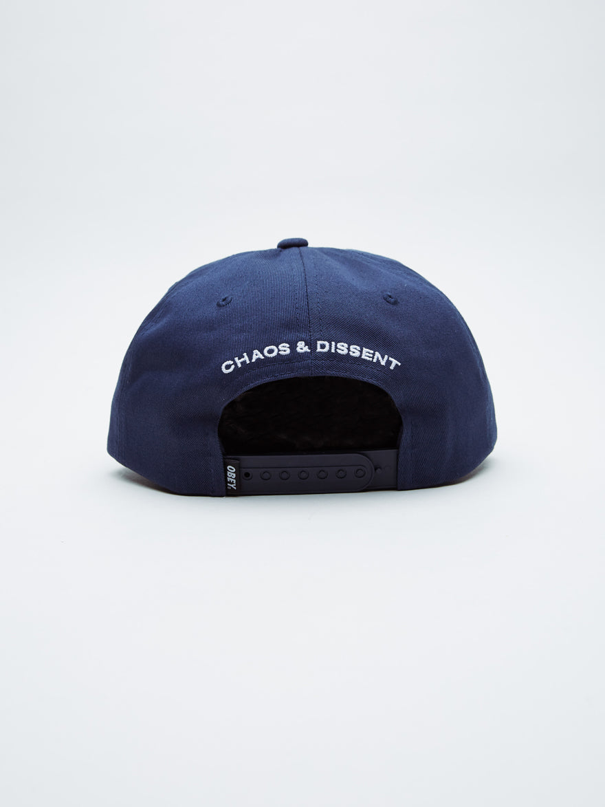 Dropout Snapback | Navy - West of Camden