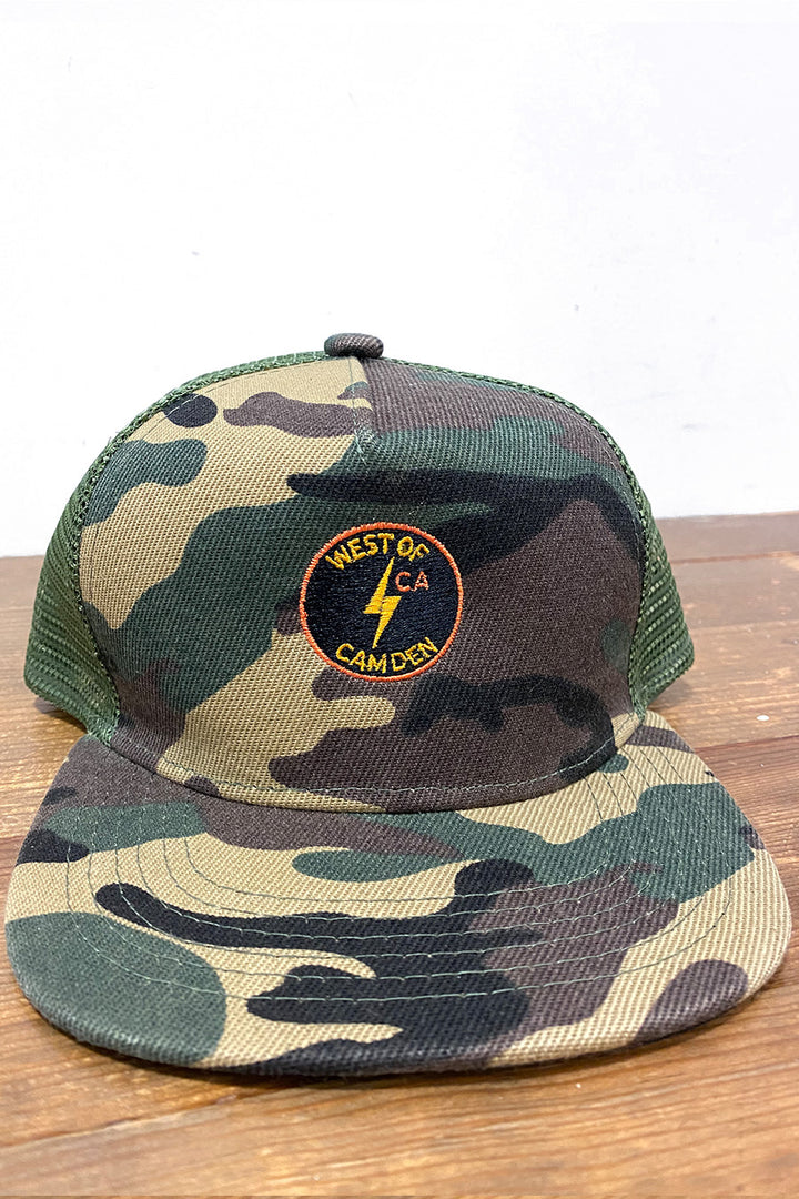 Youth Bolt Hat | Camo