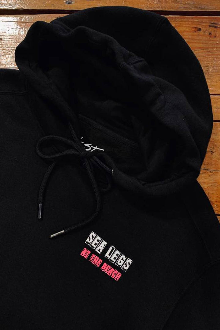SeaLegs Genres Hoodie | Black - West of Camden