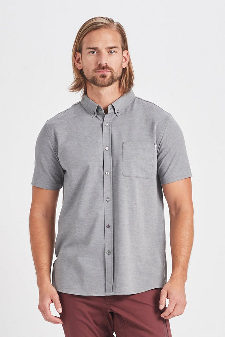 Bishop Button Down | Light Grey