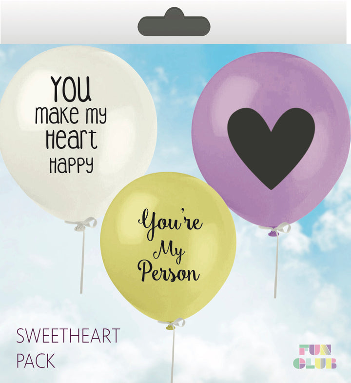 Sweetheart Balloon Pack - West of Camden