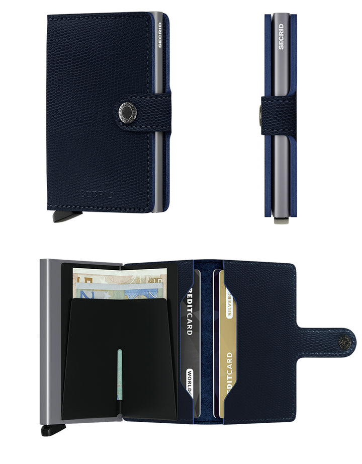 Miniwallet Rango | Blue Titanium - West of Camden