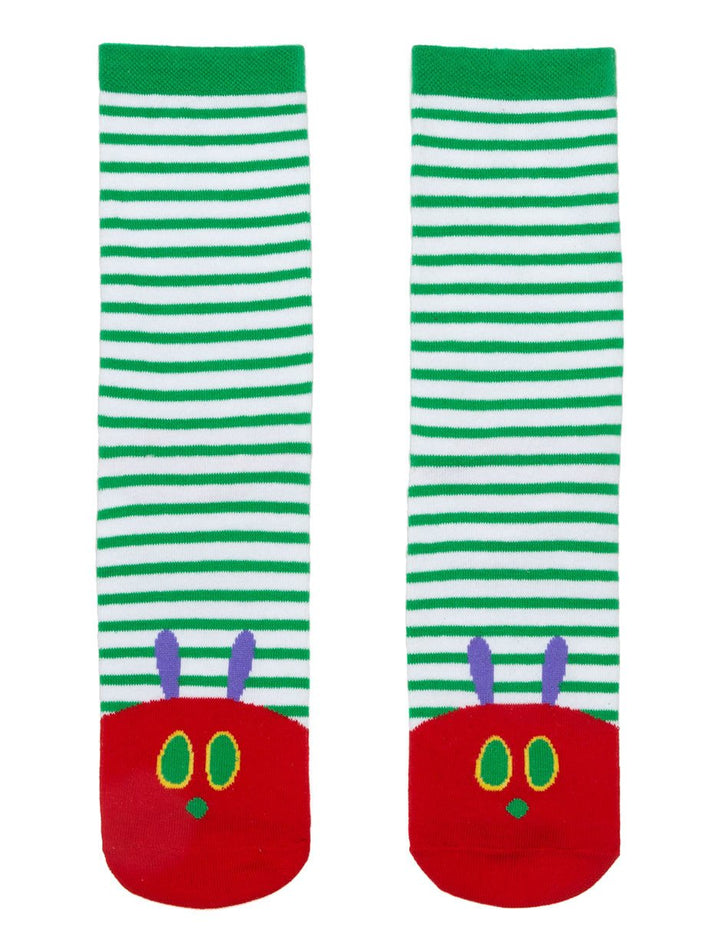 The Very Hungry Caterpillar Socks | Green - West of Camden